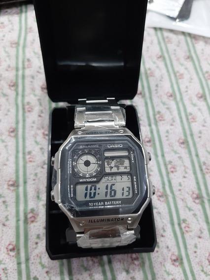 Relógio Casio Ae1200 Whd Impecável