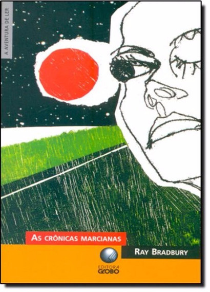 Livro As Crônicas Marcianas - Ray Bradbury _ De Bolso Pocket