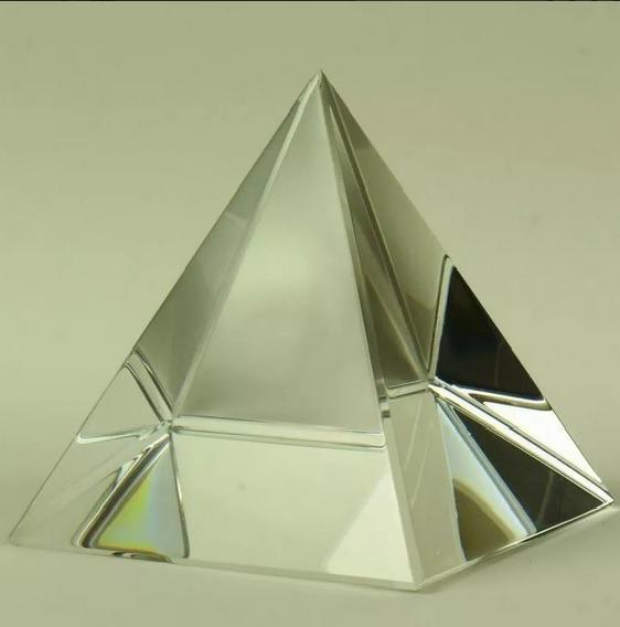Pirâmide De Cristal 5 Cm Natural Energizada Reiki Energia