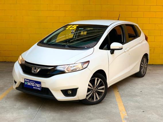 Honda Fit Exl 1.5 Flex Top Bancos Couro Metro Vila Prudente
