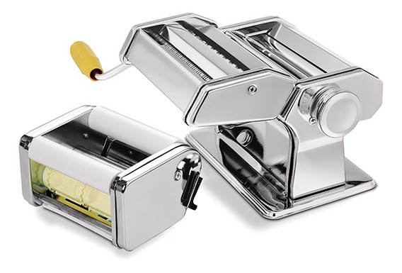 Maquina Preparar Macarrao E Ravioli Manual Cilindro Prepara