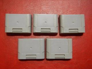 Memory Card N64 Cartucho De Memória Nintendo 64 Original