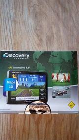 Gps Discovery Aquarius Tela 4.3 Com Tv