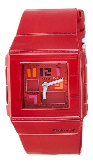 Reloj Baby-g Mujer Rojo Bga-200pd-4bdr
