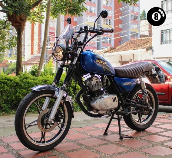 Suzuki Gn 125 Nova 2015 Modificada Custom Cafe Racer