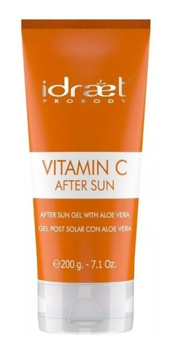 Idraet Vitamina C After Sun Gel Post Solar Hidratante