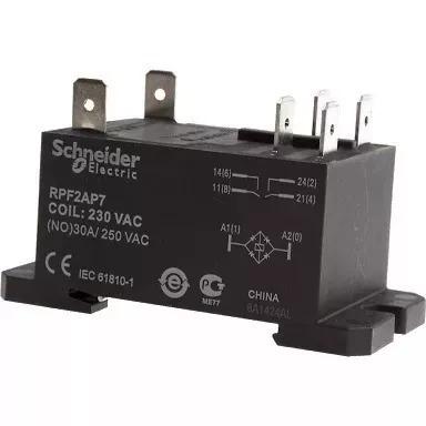 Relé P/ Ar Condicionado Schneider 2na 30a 230 Vca Rpf2ap7