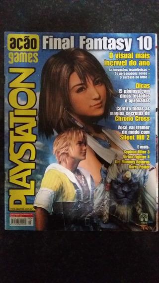 Lote Revistas Playstation Ação Games Gamers Game Over