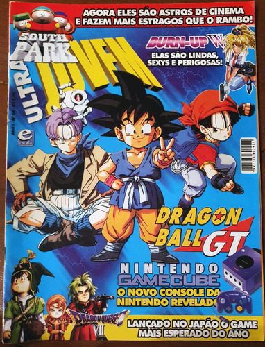 Imagem 1 de 1 de Revista Ultra Jovem 4 Com Pôster (dragon Quest Burn Up W