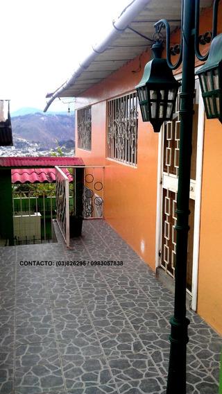Vendo Casa Sector Laquigo Ambato