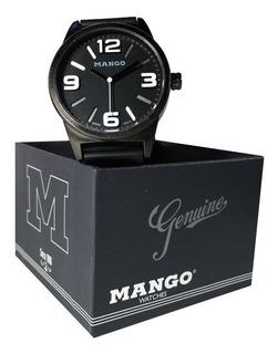 Reloj Hombre Mango 1512 - Malla Silicona - Con Estuche