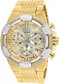 Relógio Invicta Bolt 25868 Masculino Banhado Ouro Original