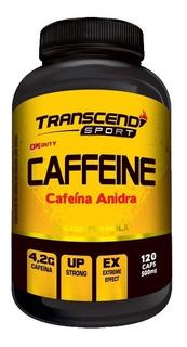 Caffeine Transcend (cafeína Anidra) 500mg 120cps