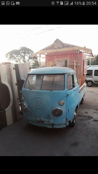 Kombi 1975 Carroceria Corujinha 1500 Vw Volkswagen Pick Up