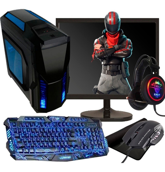 Pc Gamer I5 Completo / 8gb/ Hd 500gb/ Gts 450/ Monitor 19