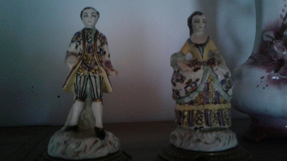 Estatuillas Figuras Porcelana Antigua