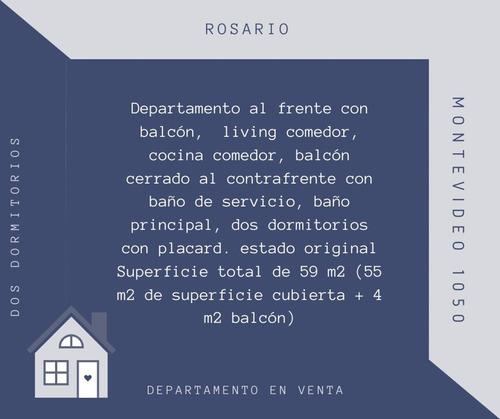 Depto De 2 Dormitorios. Montevideo/sarmiento
