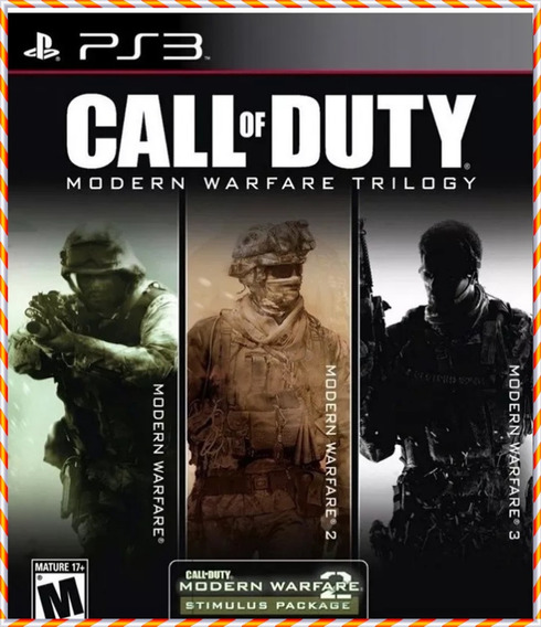 Call Of Duty Modern Warfare 2 3 E 4 Ps3 Psn Promoção Trilogy