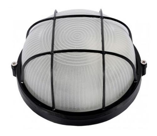 Imagen 1 de 3 de Tortuga Con Protección, Color Negro. Pase E27/60w - Ai0356