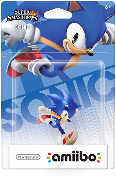 Amiibo Sonic Smash Bros Nintendo Wii U Switch New 3ds 2ds