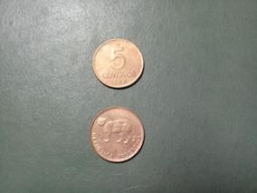 Moneda 5 Centavos Austral