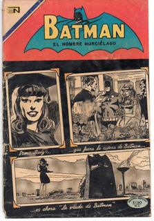 Comic Batman Novaro No. 546 De 27 Ago 1970 C/envío Incluido