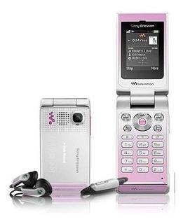 Sony Ericsson W380 - Câmera 1.3 Mp, Mp3, Rádio Fm - Novo