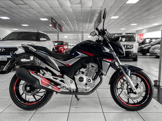 Honda Cbx 250 Twister Ano 2018 Apenas 6 Mil Km Financiamos