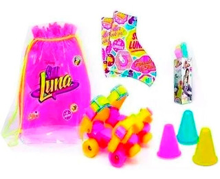 Soy Luna Kit Roller Time Patines Extensibles Con Accesorios