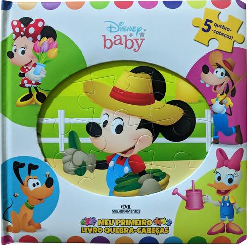 Imagem 1 de 3 de Disney Baby - Meu Primeiro Livro Quebra-cabeças