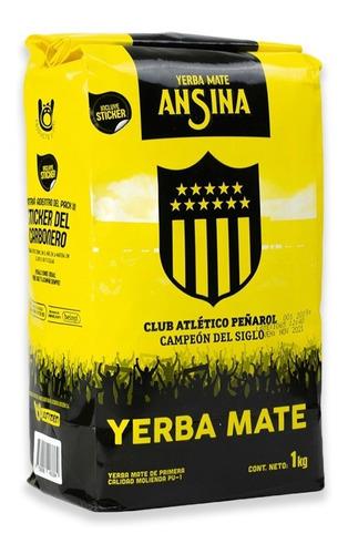Yerba Ansina 1kg Club Atlético Peñarol | Rincón Del Hincha