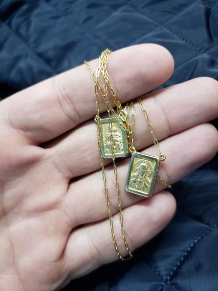 Escapulario De Ouro