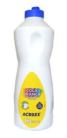 Cola Liquida Branca Acrilex 1 Litro.