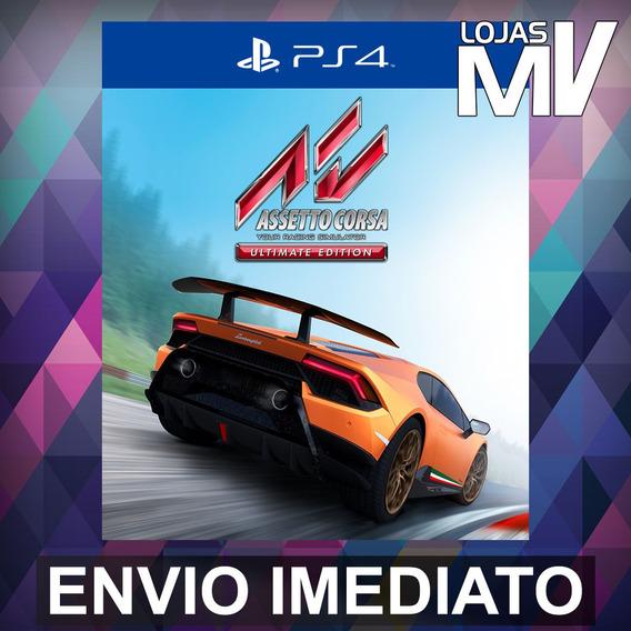 Assetto Corsa Ultimate - Playstation 4 Ps4 Código 12 Dígitos