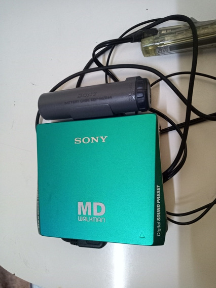 Md Walkman Sony Mz2s Funcionando Leia A Descricao