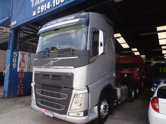 Caminhão Volvo Fh 460 2019 Truck Prata Novo