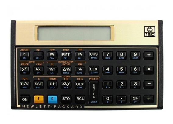 Calculadora Financeira Hp 12c Gold Original Lacrada