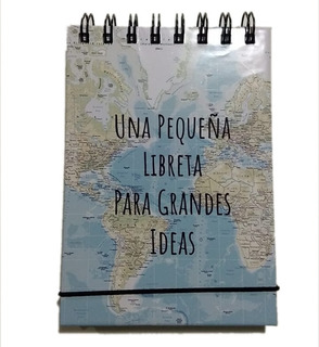 Libreta Mapa Mundi
