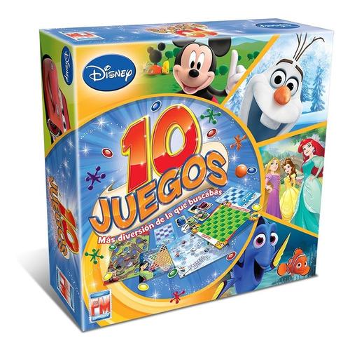 Imagen 1 de 5 de Juego De Mesa Fotorama 10 Juegos Deportivos Disney