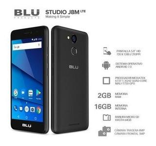 Celular Blu J8m 2gbram 8mpx Lector Huella Android 7.0 Envios