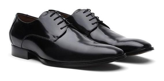 Sapato Social Masculino Cromo Preto 756 - Frete Grátis