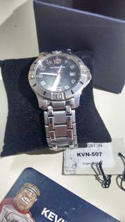Reloj Acero Kevingston Kvn 507 Muy Buen Estado