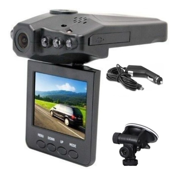 Camera Filmadora Automotiva Veicular Hd Dvr Tela 2.5