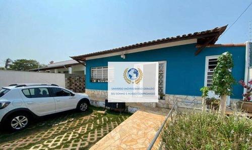 Casa Com 3 Dormitórios À Venda, 152 M² Por R$ 620.000,00 - Jardim Alto Da Cidade Universitária - Campinas/sp - Ca1358