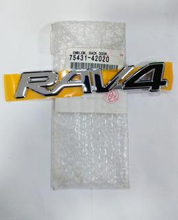 Emblema Palabra Logo Trasero Rav 4 2001/2005 Legítima