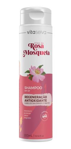 Imagem 1 de 7 de Shampoo Rosa Mosqueta Lançamento 300ml Vs