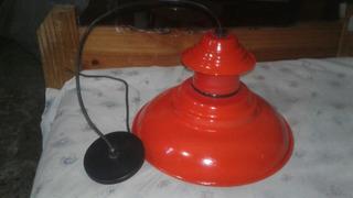 Lampara De Cocina O Galpon Wally Vintage