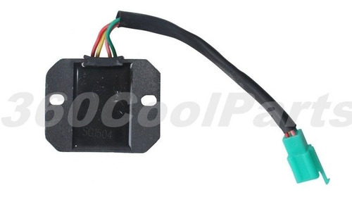 Imagen 1 de 4 de Rectificador De Regulador De Voltaje Cg125 Cg150 Cg200 Cg250