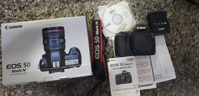 Câmera Canon Eos 5d Mark Iv 4