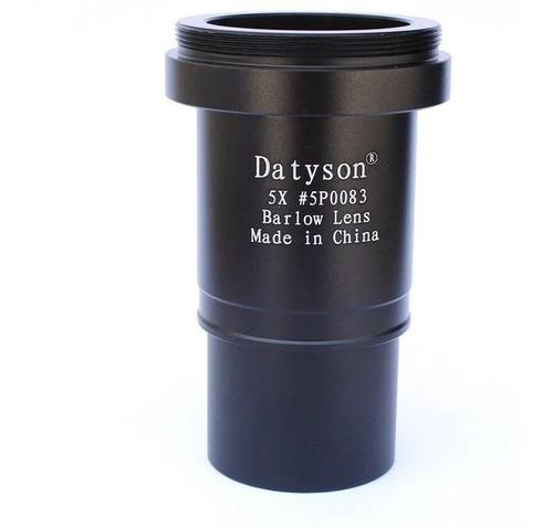 Lente Barlow 5x Multicoated Com Rosca T-2+filtro